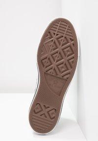 Converse - CHUCK TAYLOR ALL STAR LIFT - Sneakersy niskie - black/garnet/white - 8
