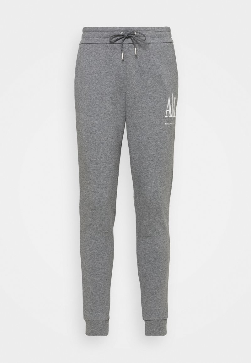 Armani Exchange - PANTALONI - Tracksuit bottoms - grey