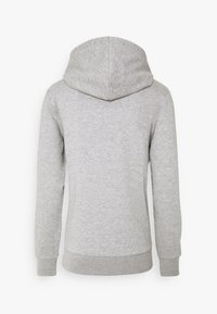 Jack & Jones - JJHERO HOOD - Mikina s kapucí - light grey melange - 6