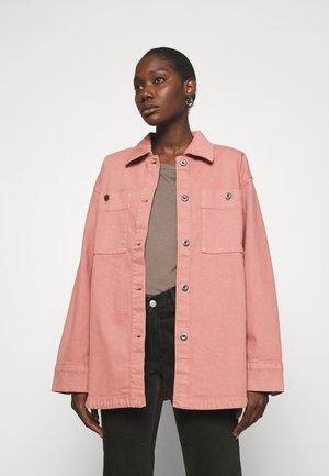 JACKET - Summer jacket - dark dusty pink