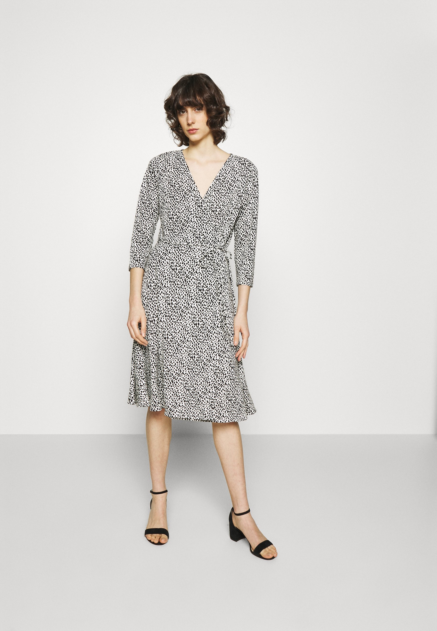 Women VNECK MATTE WRAP - Day dress