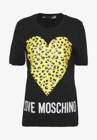 Love Moschino - T-shirt z nadrukiem - black - 4