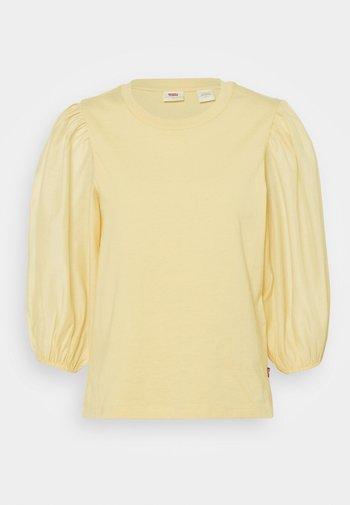 POET TEE - Bluzka z długim rękawem - golden haze