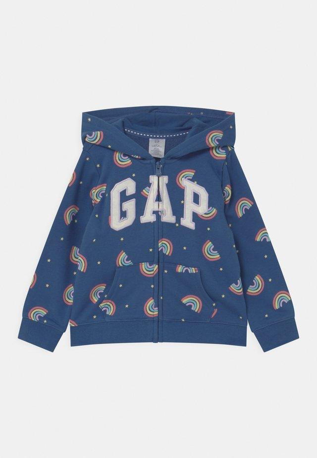 GIRL LOGO - Zip-up hoodie - multi-coloured