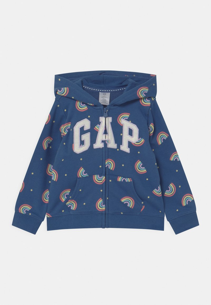GAP - GIRL LOGO - Sweater met rits - multi-coloured