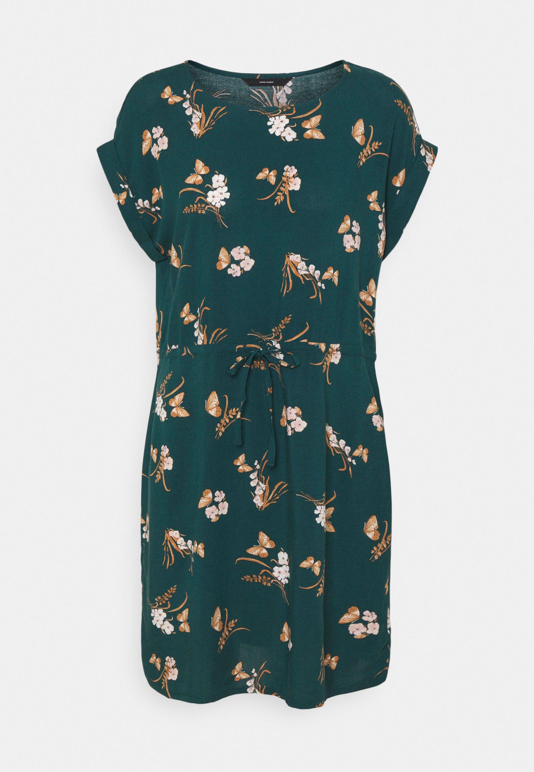 Women VMSIMPLY EASY TIE SHORT DRESS - Day dress