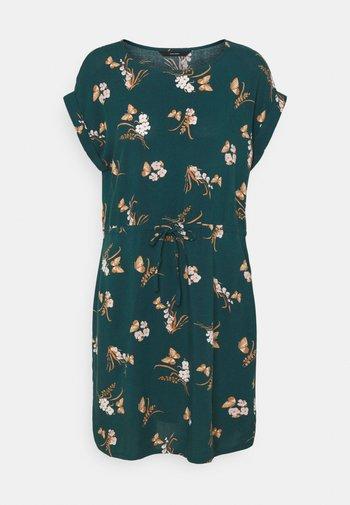 VMSIMPLY EASY TIE SHORT DRESS - Day dress - sea moss/ann