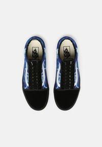 Vans - OLD SKOOL UNISEX - Tenisky - black/blue - 3