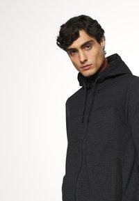s.Oliver - Zip-up hoodie - black - 2