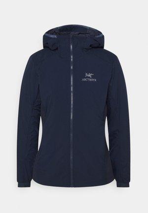 ATOM HOODY WOMEN'S - Outdoor jacket - kingfisher