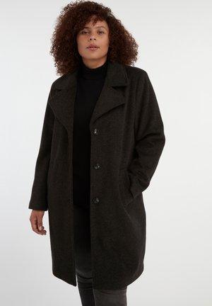 LONG CITY - Classic coat - multi grey-black