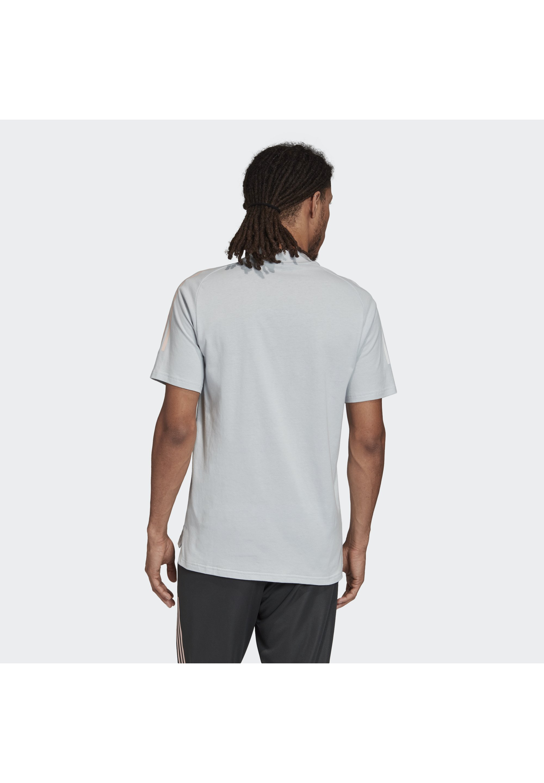 Adidas Performance Deutschland Dfb Tee - T-shirt Z Nadrukiem Light Grey