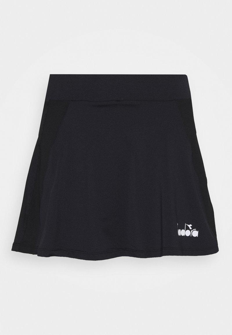 Diadora - SKIRT EASY TENNIS - Sportovní sukně - black