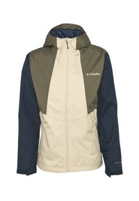 Columbia - INNER LIMITS™ JACKET - Veste Hardshell - ancient fossil/coll navy/stone green - 4