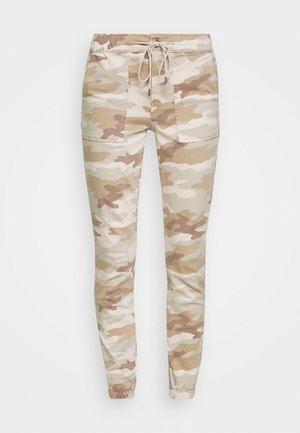 HIRISE JEGGING JOGGER - Trousers - beige