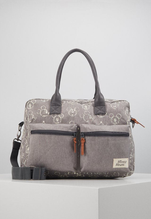 DIAPER BAG ENDLESS IMAGINATION - Baby changing bag - grey