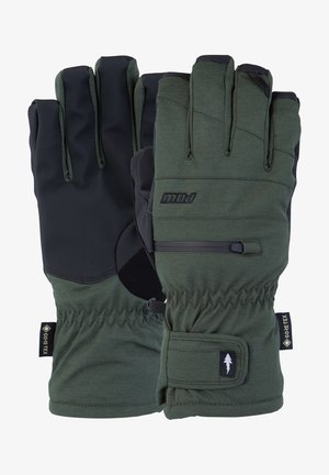 Gloves - kombu green