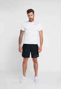 Nike Performance - AIR CHALLENGER SHORT - Sports shorts - black/reflective silver - 1