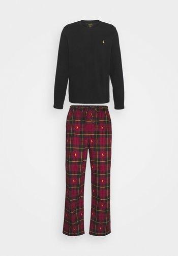 Pyjamas - black/red