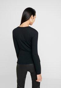 Zign - Camiseta de manga larga - black - 2