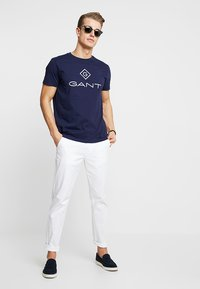 GANT - LOCK UP  - T-shirt con stampa - evening blue - 1
