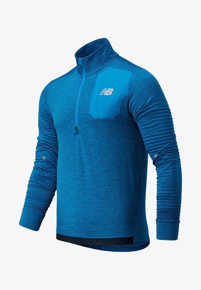 Sportshirt - wave blue heather