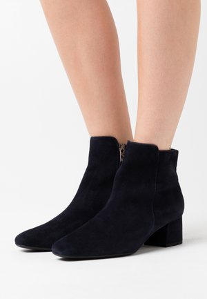 TINA - Classic ankle boots - navy
