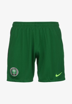 SLIM FIT - Sports shorts - pine green / sub lime