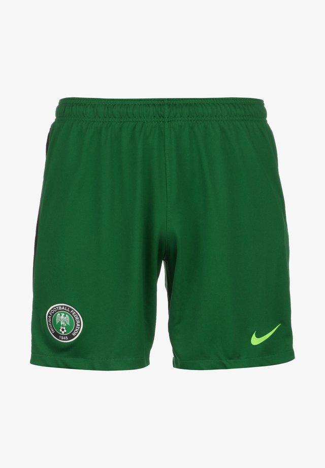 SLIM FIT - Krótkie spodenki sportowe - pine green / sub lime