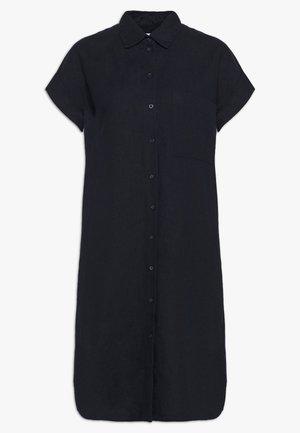 KURZARM - Robe chemise - navy