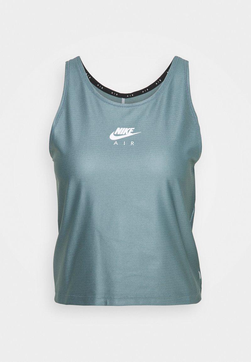 Nike Performance - AIR TANK - Camiseta de deporte - ozone blue/white