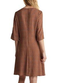 Esprit - LIGHT WOVEN - Denní šaty - rust brown - 3