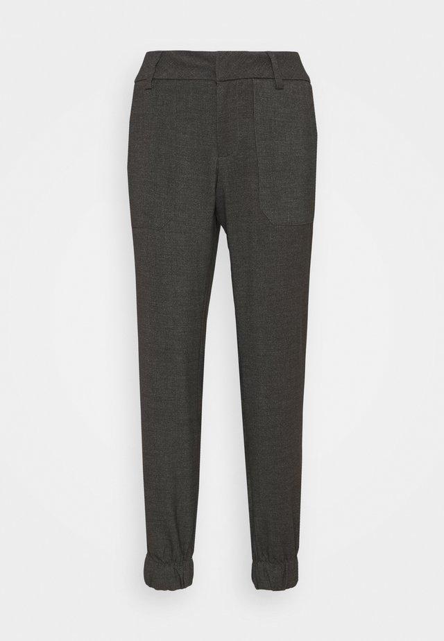 Kalhoty - shale grey melange