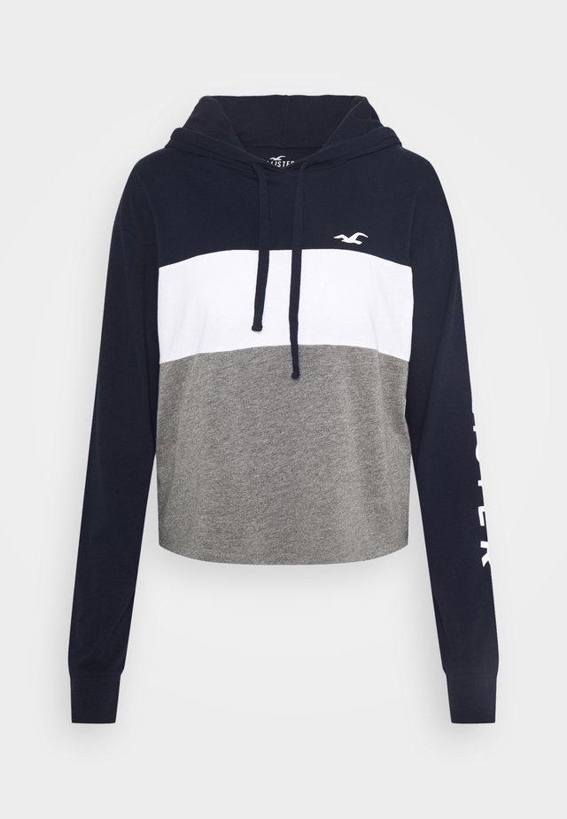 HOODIE - Långärmad tröja - grey