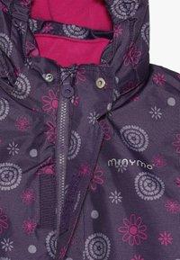 Minymo - SNOWSUIT OXFORD - Lyžařská kombinéza - loganberry - 6