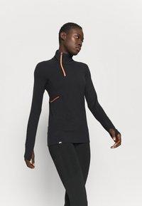 Mons Royale - OLYMPUS 3.0 - Sports shirt - black - 0