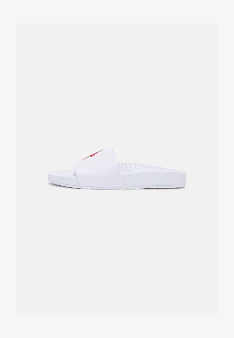 Polo Ralph Lauren - CAYSON BEAR UNISEX - Slip-ins - white