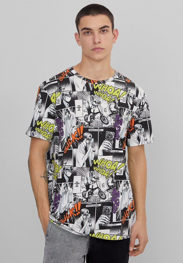 T-shirt imprimé - nude