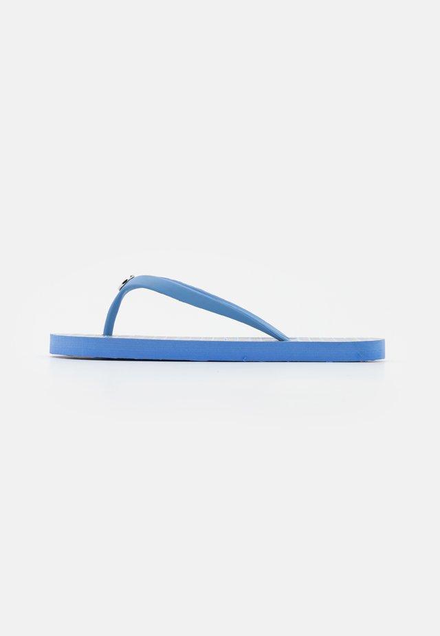 EVA PAISLEY SHAWNA - T-bar sandals - blue