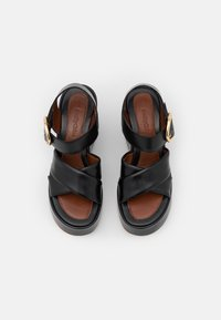 See by Chloé - LYNA WEDGE - Platform sandals - black - 4