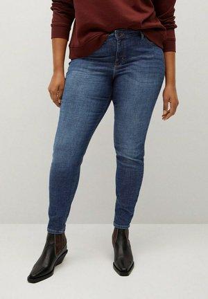ANDREA - Slim fit jeans - dunkelblau