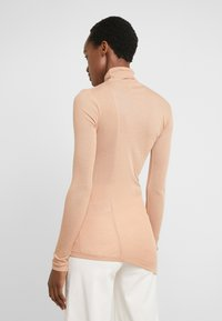 BLANCHE - WRAPPA BLOUSE - Svetr - toffee - 2