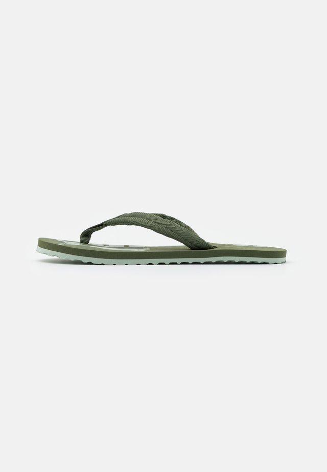 EPIC FLIP V2 UNISEX - Sandály s odděleným palcem - thyme/aqua gray