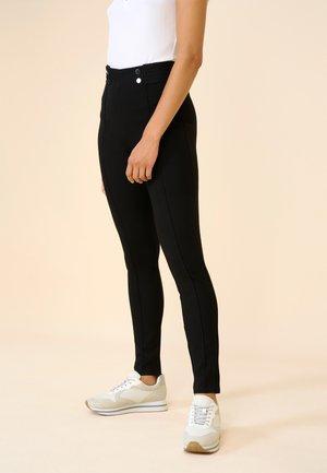 HIGH WAIST TREGGINGS - Trousers - schwarz