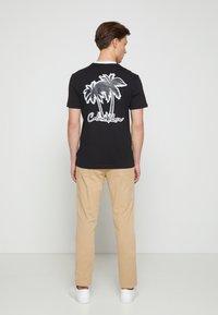 Calvin Klein - SUMMER GRAPHIC  - T-Shirt print - black - 0