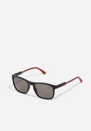 Sunglasses - matte black/red