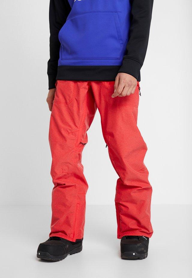 COVERT  - Pantalon de ski - flame scarlet