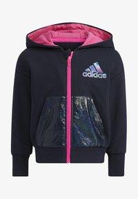 adidas Performance - Zip-up sweatshirt - blue - 0