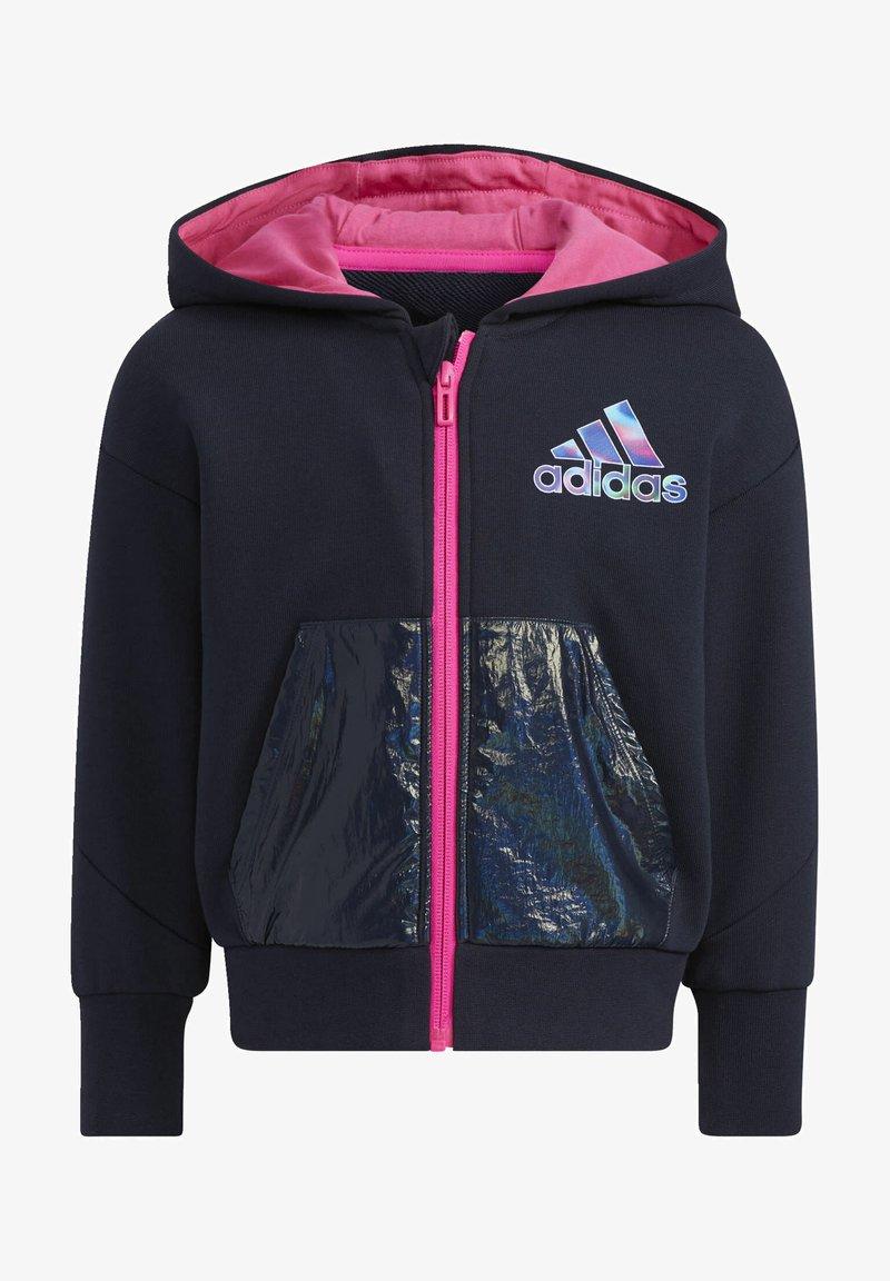 adidas Performance - Zip-up sweatshirt - blue