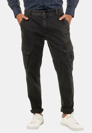 Cargo trousers - dirty black
